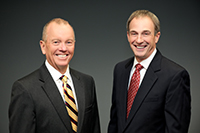 Austin J. Slater, Jr., President and CEO and P. Scott White, Chairman of the Board
