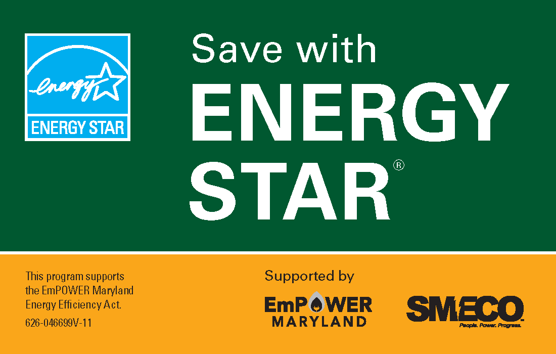 Save with ENERGY STAR Sears Card Insert
