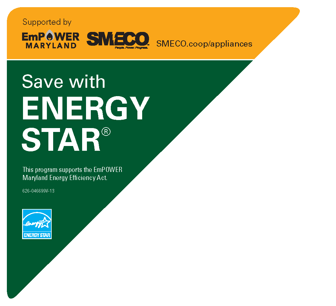 Save with ENERGY STAR Sticker Cling